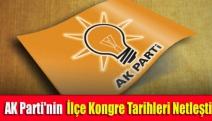 AK Parti'nin ilçe kongre tarihleri netleşti