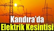 Kandıra'da elektrik kesintisi