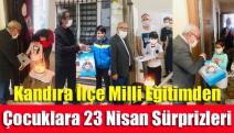 Kandıra İlçe Milli Eğitimden Çocuklara 23 Nisan Sürprizleri