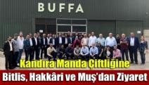 Kandıra Manda Çiftliğine Bitlis, Hakkâri ve Muş'dan Ziyaret