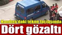 Kandıra'daki Tekne Faciasında Dört Gözaltı