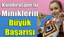 Kandıraspor'lu miniklerin büyük başarısı