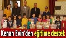 Kenan Evin'den eğitime destek
