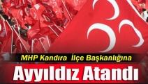 MHP Kandıra  İlçe Başkanlığına Ayyıldız Atandı