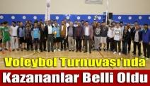 Voleybol Turnuvası'nda kazananlar belli oldu